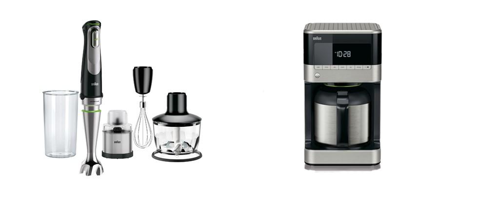 MultiQuick9 Set mit Gewürzmühle und die Kaffeemaschine PurAroma 7