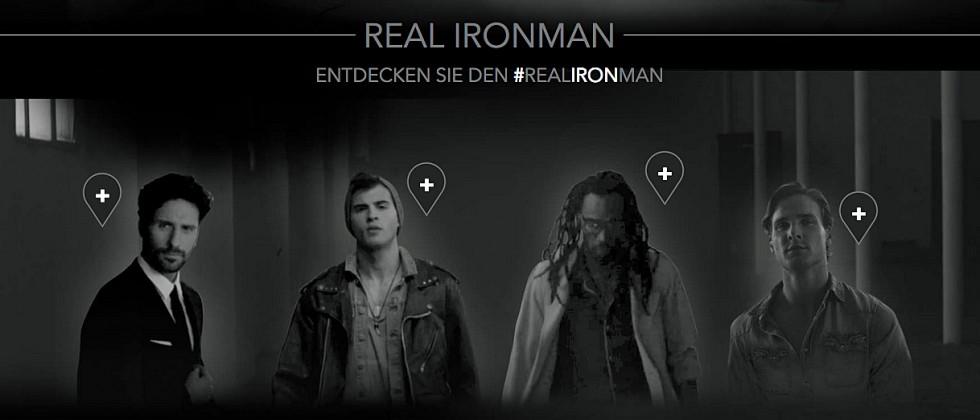 Braun startet Werbekampagne #realironman
