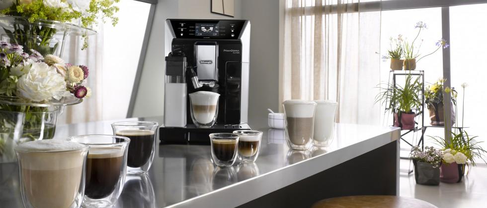 Die neue De'Longhi PrimaDonna Class bietet eine riesige Auswahl an unterschiedlichen Kaffeespezialitäten.