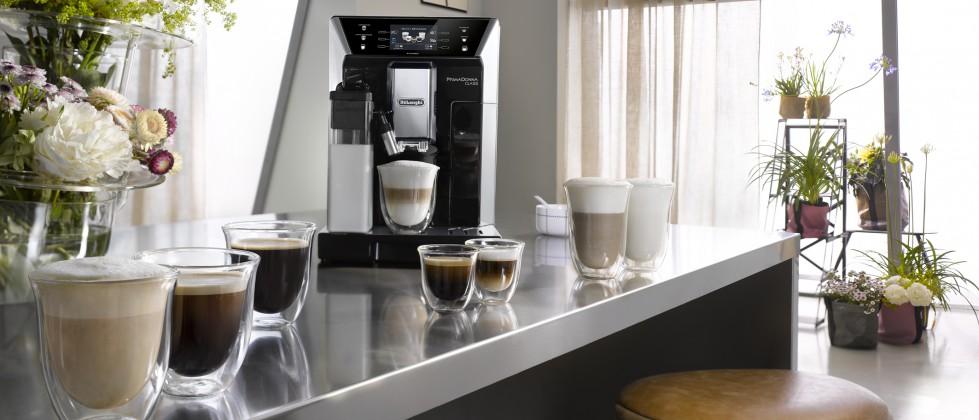 Die Kaffeevariationen der De'Longhi PrimaDonna Class