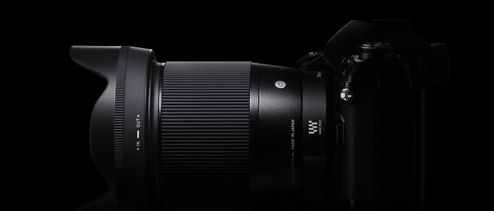 SIGMA 16mm F1.4 DC DN I Contemporary von der Seite
