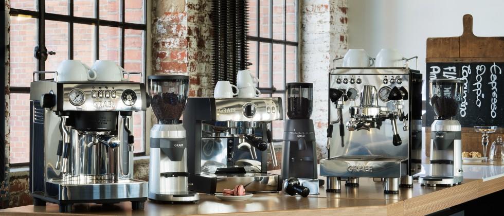 (Foto: GRAEF) Partner für den Handel: GRAEF stellt das Kaffeesortiment im Barista-Livestream vor