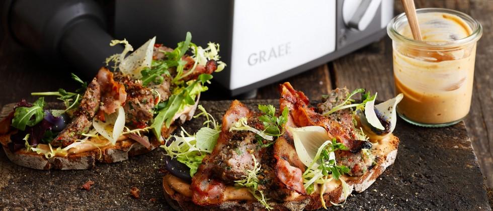 """(FOTO: GRAEF) Genuss trotz Corona – GRAEFS MUNDWERK bietet """"Essen to Go"""""""