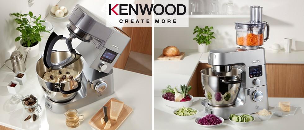 Die Kenwood Cooking Chef Gourmet ist das ideale Allroundtalent für die moderne Küche.