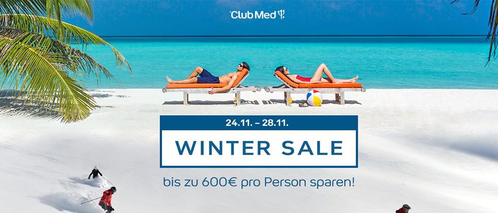 Club Med startet ersten Winter Sale vom 24. bis zum 28. November