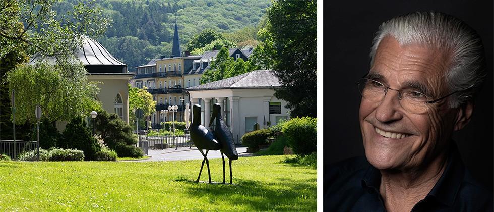 Schauspielstar Sky du Mont liest in Schlangenbad.