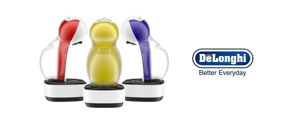 Die neue NESCAFÉ Dolce Gusto Colors bringt farbenfrohe Abwechslung in die Küche.