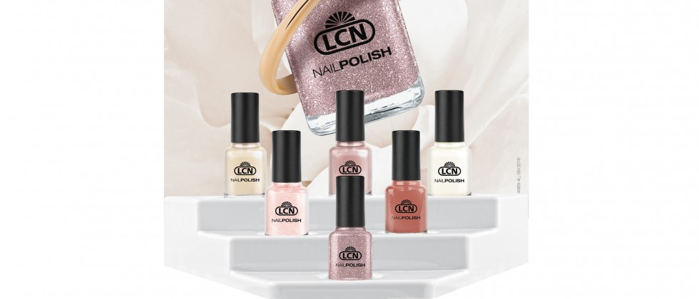 Die neuen Nagellacke der LCN Bridal Collection