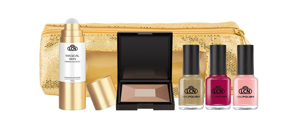 "Das LCN Make-up Set ""Summer in Saint Tropez"" sorgt für den perfekten Summer-Look auf jeder Party."