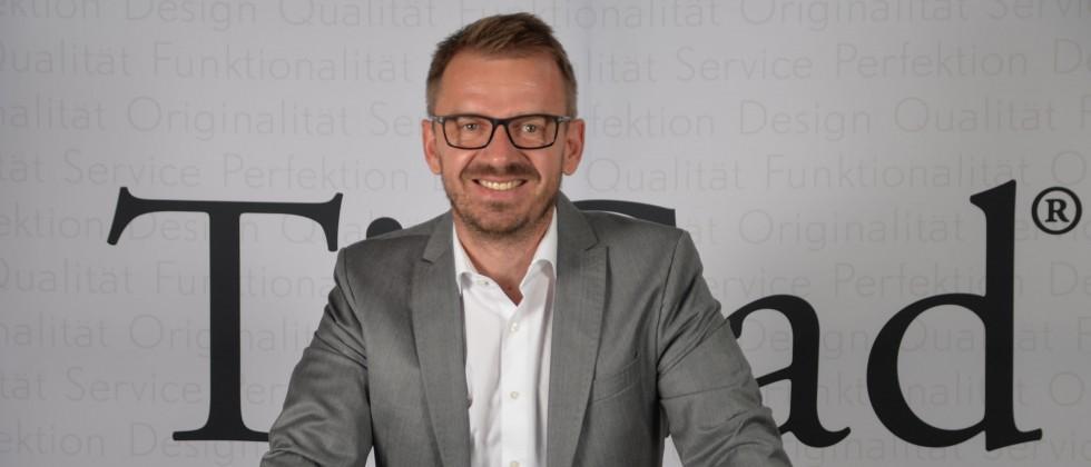 Der Geschäftsführer von TiCad, Björn Hillesheim