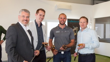 Gerhard Karl (Brilliant8), Robbie Sowden (Caledonia Putters), Bernd Ritthammer, Dr. Paul Hurrion (Quinitic)