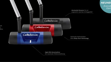 "Everybody's Darling – Der neue Blade-Putter ""Darling"" von Caledonia"