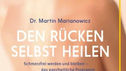 Das Cover des neuen Buches von Wirbelsäulenspezialist Dr. Martin Marianowicz