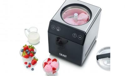 (Foto: GRAEF) Die neue GRAEF Eismaschine sorgt für Abkühlung im Sommer