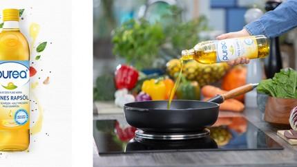 Teutoburger Ölmühle weckt Rapsölmarkt mit purea® aus dem Dornröschenschlaf