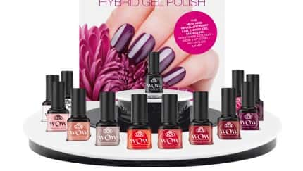 Das Display des neuen LCN Wow Hybrid Gel Polish