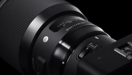 (Foto: SIGMA Deutschland GmbH) Das Objektiv 85mm F1.4 DG HSM Art von SIGMA