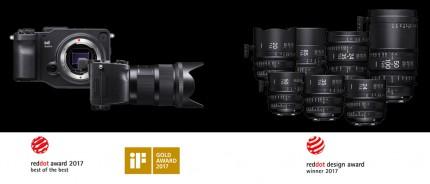 SIGMA Kameras und Objektive überzeugen bei gleich zwei Designwettbewerben