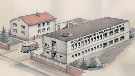 Bild der Ledermanufaktur von Richard Kräuter