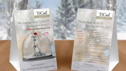 Der TiCad Wintercheck gilt im Aktionszeitraum November 2016 - März 2017