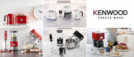 Die neue kMix Serie von Kenwood vereint Qualität, Leistung und Ästhetik und glänzt mit schlichter Formensprache.