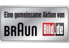 Das Logo der gemeinsamen Kampagne von BRAUN und Bild