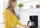 PurEase Kaffeemaschine in schwarz