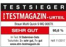 Das ETM Testmagazin kürt den MultiQuick 9 von Braun zum Testsieger