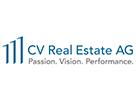 (Foto: CV) Das Logo der CV Real Estate AG