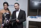 Auch Fernanda Brandao stattete Club Med am Stand beim Deutschen Filmball einen Besuch ab