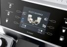 Über das Sensor-Touch-Display der De'Longhi PrimaDonna Class können einen Vielfalt an Kaffeekreationen ausgewählt werden.