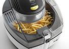Mit der MultiFry von De'Longhi werden auch Pommes frites richtig kross.