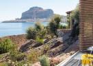 Ausblick von der Terrasse der Villettas Deluxe im Club med Cefalù auf Sizilien