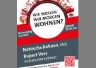 """(Foto: München-Land SPD) Die Veranstaltung """"Wie wollen wir morgen wohnen?"""" bildet den Auftakt einer ganzen Reihe mit Natascha Kohnen und wechselnden Referenten rund um zukünftige Lebensvorstellungen."""