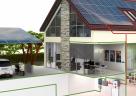 (Foto: Kopp) Die Anbindung an die Photovoltaikanlage und das Smart-Home-System Blue-control von Kopp ermöglicht weitreichende Energiemanagementfunktionen.