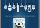 (Foto: Kopp) Sie dimmen LED-Lampen von 3 bis 100 Watt und Glühlampen von 5 bis 250 Watt stufenlos und sorgen so für das perfekte Licht für jeden Bedarf.