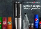 (Foto: SodaStream) Die ergiebigen Sirups reichen für jeweils 9 bzw. 12 Liter Fertiggetränk.