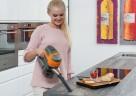 Der THOMAS QUICK STICK FAMILY ist auch beim Reinigen der Küche der perfekte Begleiter.
