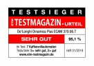 """ETM-Testsiegel """"sehr gut"""" für die Dinamica plus von De'Longhi"""