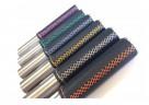 Die hochwertigen Lederhandgriffe des TiCad Liberty gibt es mit unterschiedlichen Ziernähten.
